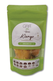 Organic dried mango stripes 50 g