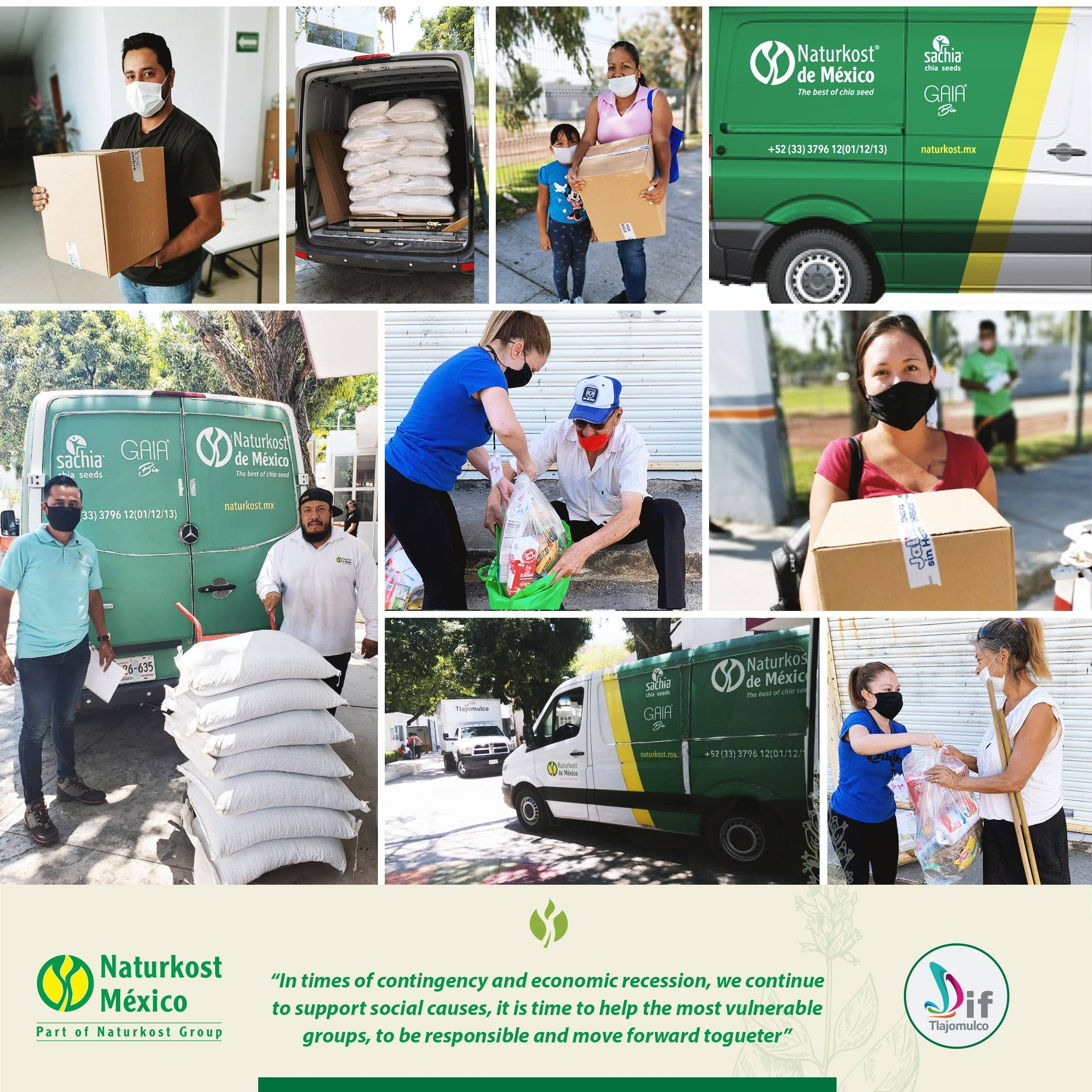 Naturkost Mexico supporting social causes