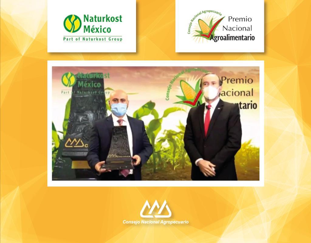 Naturkost México Gana el Premio Nacional Agroalimentario