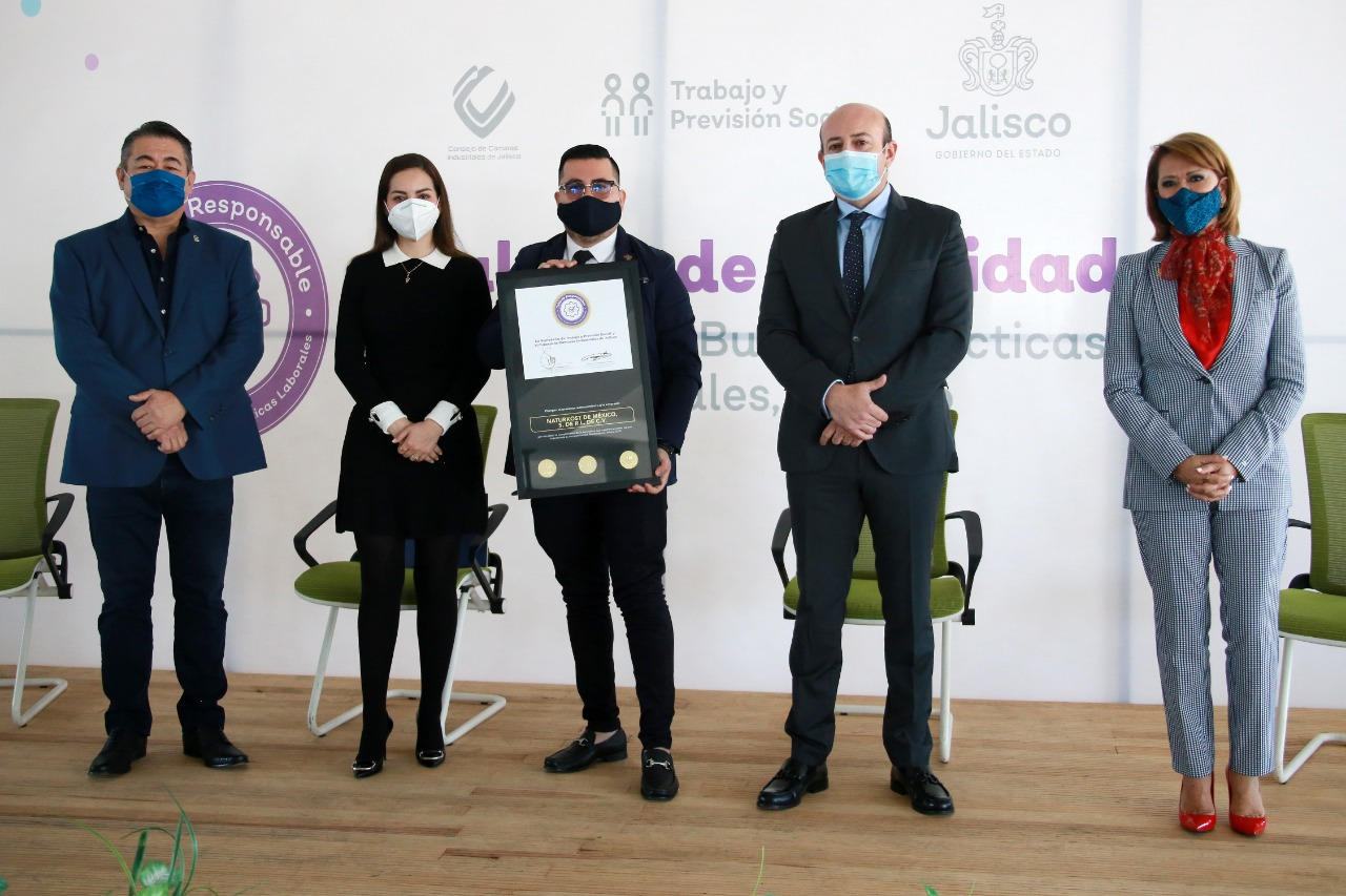 "Naturkost México recibe el distintivo ""Jalisco Responsable"""